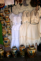 Clothes in Market in Oaxaca, Mexico