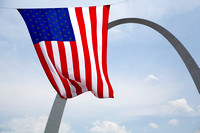 Fourth of July - Gateway Arch