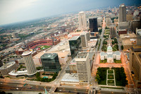 View from Top of Gateway Arch