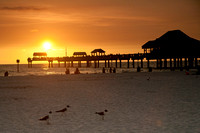Sunset at Pier 60 at Clearwater Beach, FL