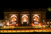 Union Station at Night in Kansas City, MO