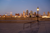 Kansas City Skyline from Liberty Memorial