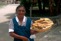 Woman and Candies in Oaxaca, Mexico