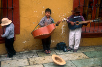 Child Musicians in Oaxaca, Mexico