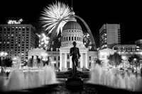 Fourth of July - Kiener Plaza in St. Louis, MO