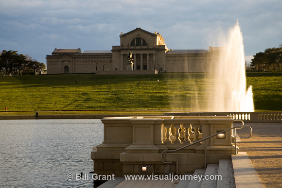 St. Louis Art Museum and Grand Basin