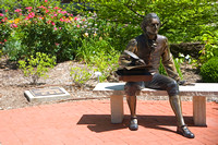 University of Missouri - Botanic Garden, Thomas Jefferson Bronze Sculpture